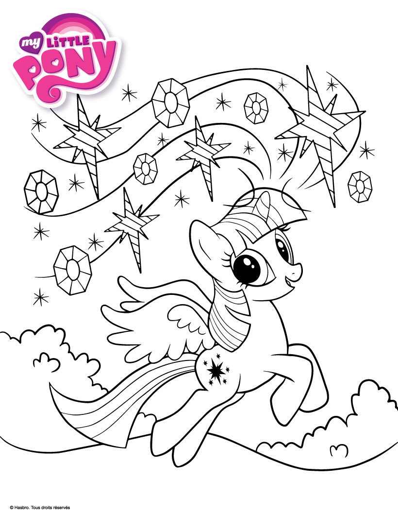 coloriage my little pony coloriages coloriage à imprimer
