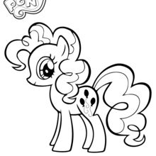 Coloriage : Pinkie Pie