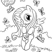 coloriage my little pony coloriages coloriage. Black Bedroom Furniture Sets. Home Design Ideas