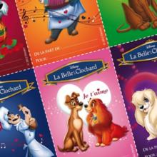 Cartes de St valentin - La belle et le clochard