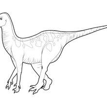 Coloriage : Iguanodon