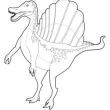Coloriages de dinosaures coloriages coloriage imprimer gratuit - Coloriage diplodocus ...