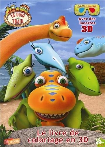 Livre : Le livre de coloriage de Dino Train