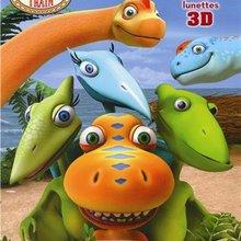 Le livre de coloriage de Dino Train