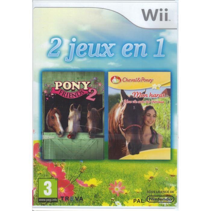 La boîte du jeu : Pony Friends 2 & Mon haras