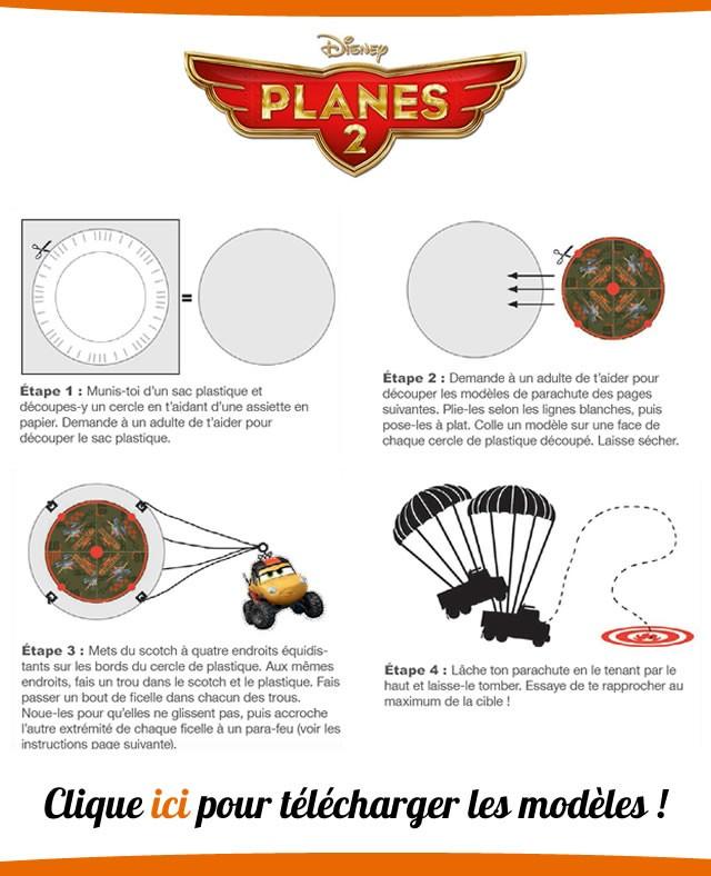 Fabrique des parachutes PLANES 2