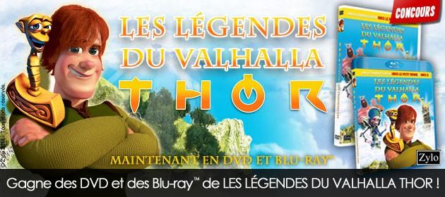 DVD Thor et les légendes du valhalla