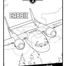 Coloriage Planes 2 : Planes 2 - Cabbie