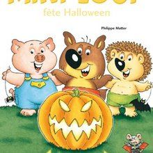 Livre : Mini-Loup fête Halloween