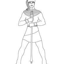 Pharaon avec l'uraeus
