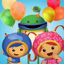 nickelodeon, Coloriages UMIZOOMI