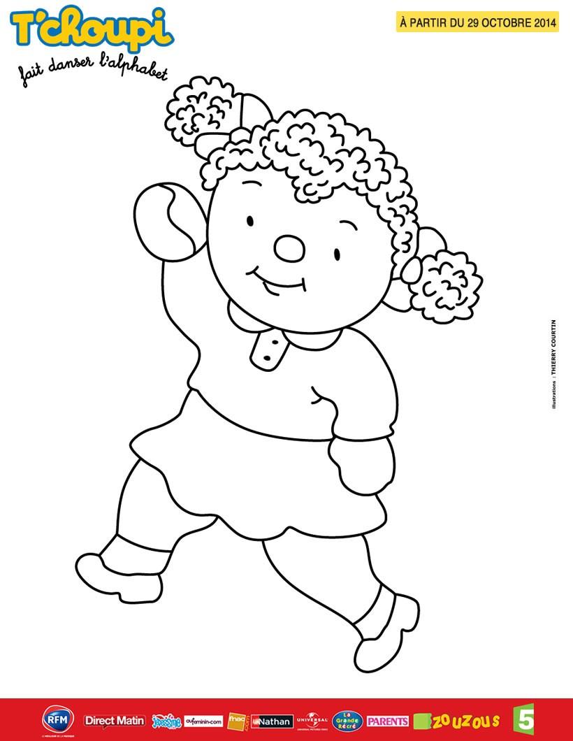 Coloriages du spectacle de t 39 choupi lalou la copine de t 39 choupi - Coloriage a imprimer tchoupi ...