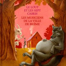 Livre : Le loup et les sept cabris