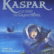 Livre : Kaspar le chat du Grand Hotel