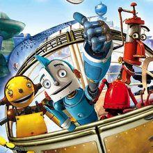 coloriages pour garçons, Coloriage du film ROBOTS