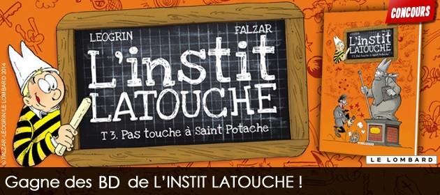 Concours BD L'instit Latouche