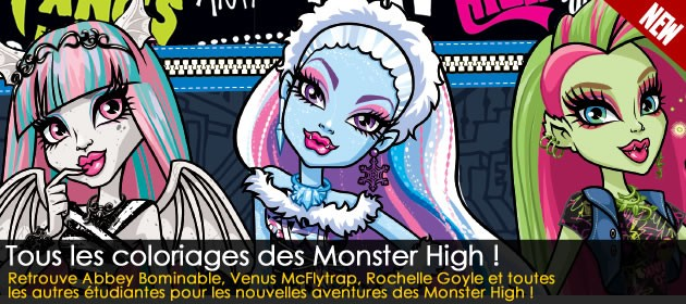 Coloriages Monster High