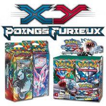 XY Poings Furieux : Le nouveau jeu de cartes Pokémon