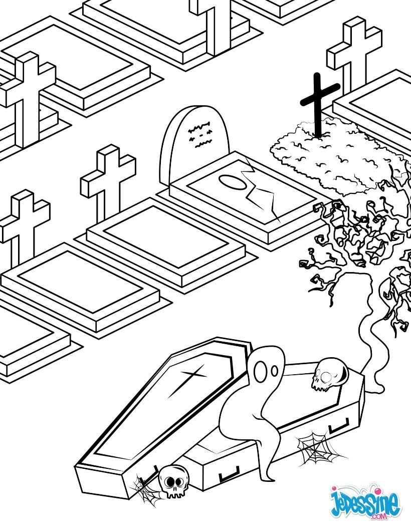 Mort armée de sa faux Cimeti¨re