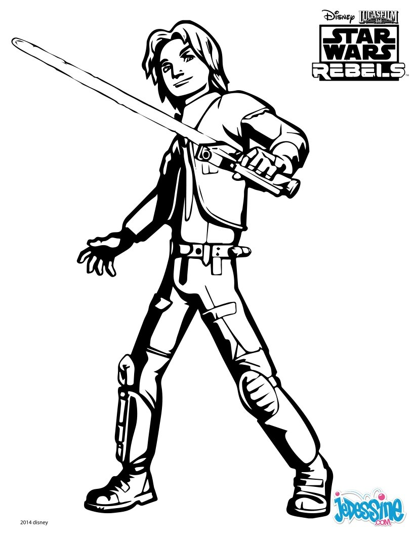 Coloriages Star Wars Fr Hellokids Com