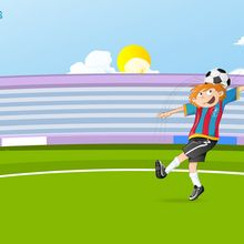 Fond d'écran : Joueur de foot