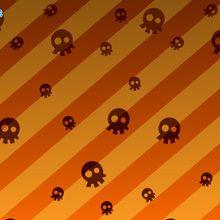 Fond d'écran : Crânes d'Halloween