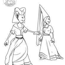 Femmes du Moyen-Age