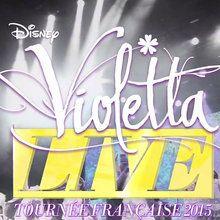 Les dates de la tournée Violetta Live 2015 dévoilées !