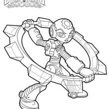Coloriage Skylanders : Gearshift