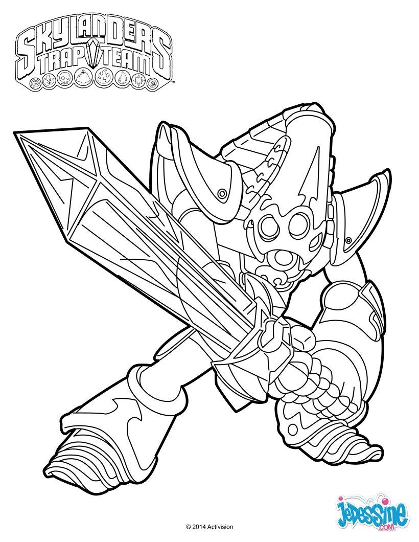 skylanders kaos trap coloring pages - photo#26