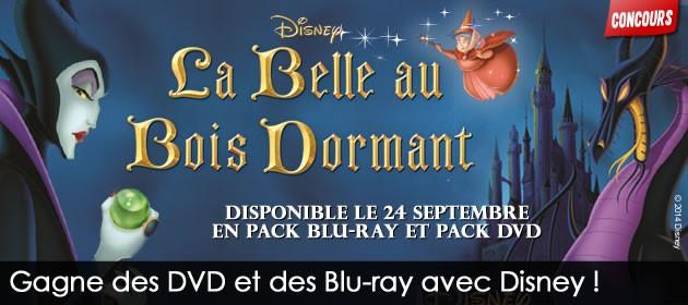Merci davoir été si nombreux à participer à notre concours et  ~ La Belle Au Bois Dormant Dvd