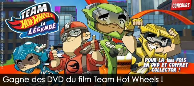 DVD Hot Wheels La légende