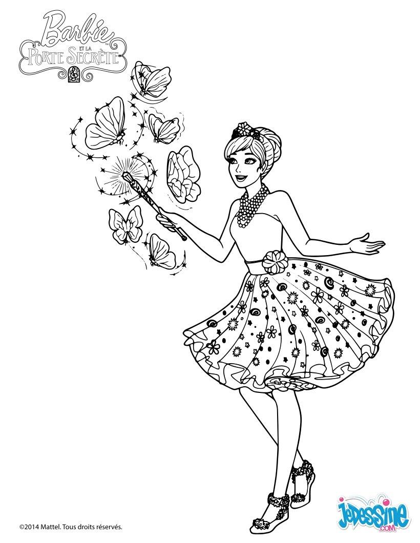 Coloriages alexa cr des papillons magiques - Coloriage hello kitty et la licorne ...