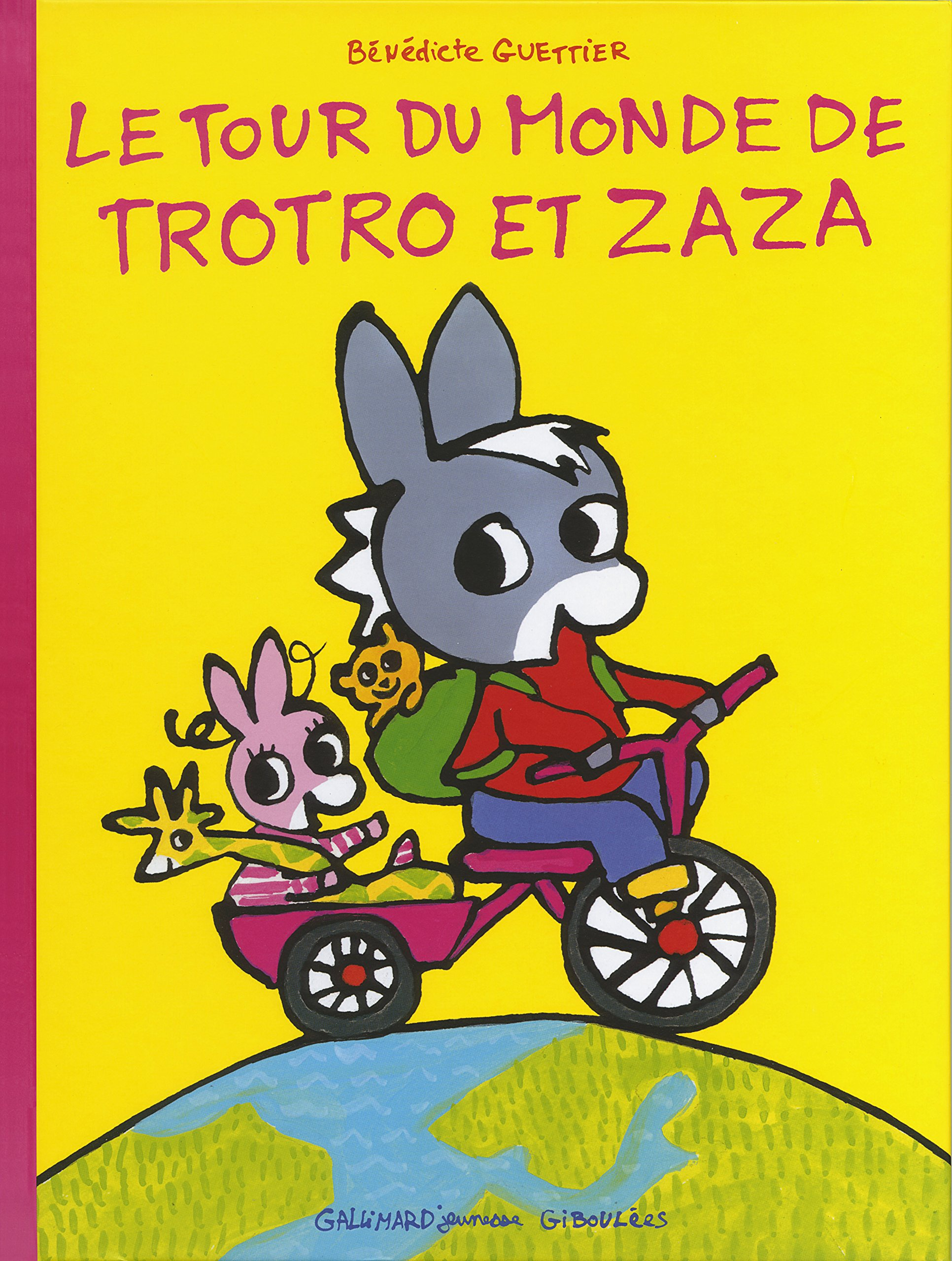 Contes pour enfants le tour du monde de trotro et zaza - Jeux de trotro ...
