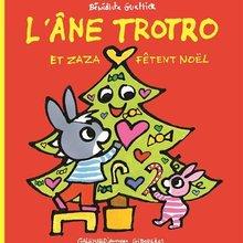 L'âne Trotro et Zaza fêtent Noël