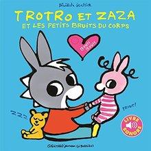 Livre : Trotro et Zaza et les petits bruits du corps