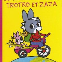 Livre : Le tour du monde de Trotro et Zaza