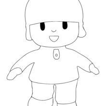 Coloriage : La poupée de garçon