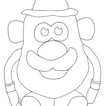 Coloriage : Monsieur Patate