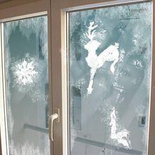 Pochoirs de Noël pour la décoration des fenêtres