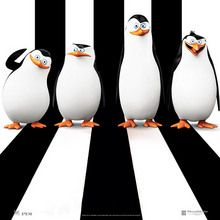 Coloriage LES PINGOUINS DE MADAGASCAR