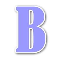 B la lettre