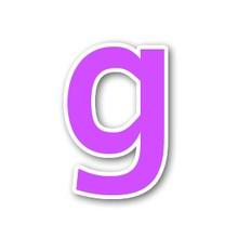 g minuscule