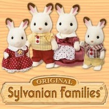 Coloriage SYLVANIAN FAMILIES