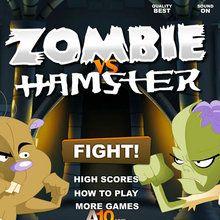 Jeu : Zombie vs Hamster