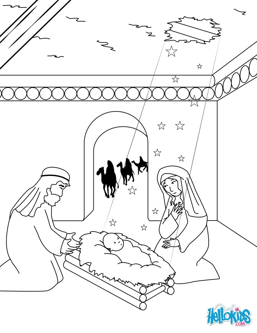 santons coloring pages - photo#7