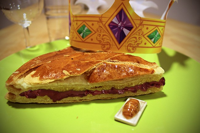 COPIE DE La galette des rois traditionnelle (frangipane)