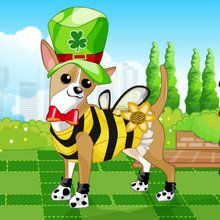 Jeu : Dog Dress Up