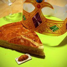La galette des rois traditionnelle (frangipane)
