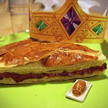 Recette : La galette des rois au chocolat